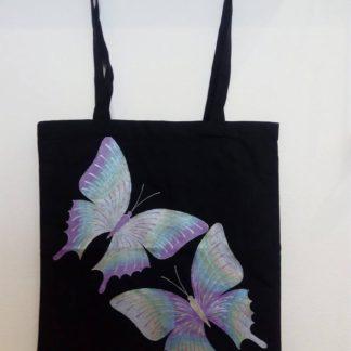 ručně malovaná taška