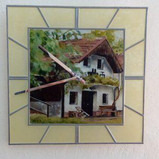 ručně malované originální sklo