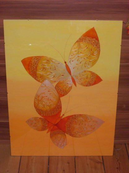 Ručně malovaný skleněný obraz