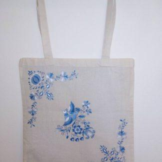 malovaná taška
