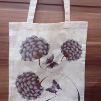 originální malovaná taška