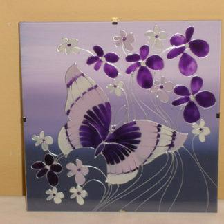 ručně malované sklo