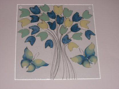 dekorační skleněné závěsy