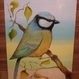 malovaný obraz na skle