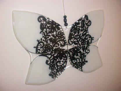 skleněný motýl