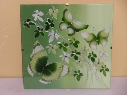 originální malované sklo