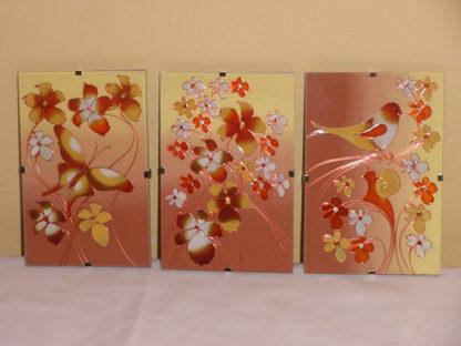 malované obrázky na skle