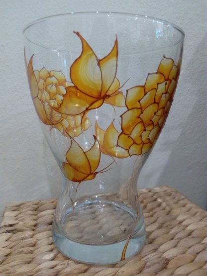 dekorační malovaná váza