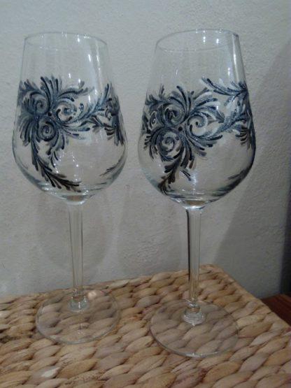 originální skleničky n avíno