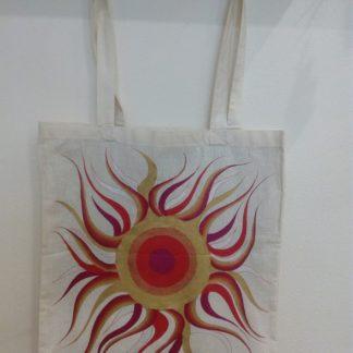 nákupní taška malovaná